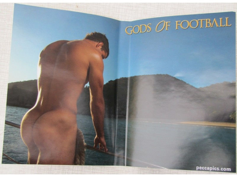 Gods of Football The Making of The 2009 Calendar
