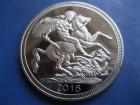 Gold coin GB  - Sveti Georgije - replika