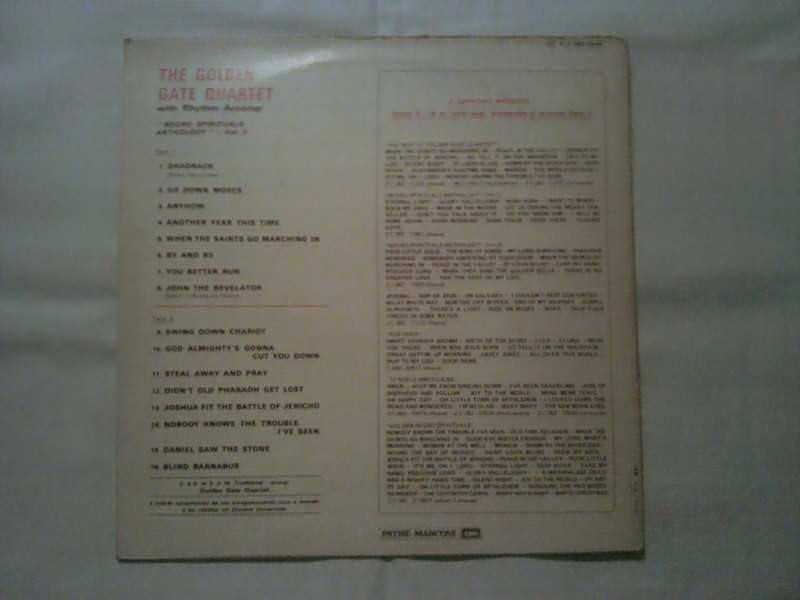 Golden Gate Quartet, The - The Golden Gate Quartet / Enregistrements Originaux