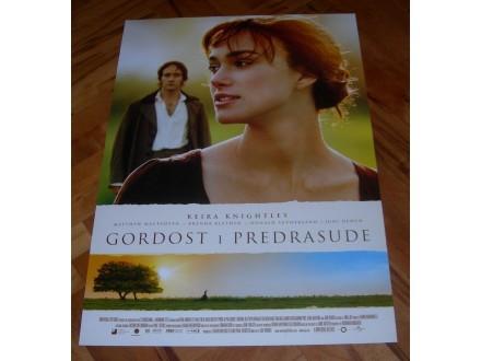 Gordost i predrasude, filmski plakat