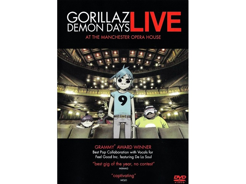 Gorillaz - Demon Days Live At The Manchester Opera House