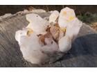 Gorski kristal klaster, geoda, 400g, poludragi kamen