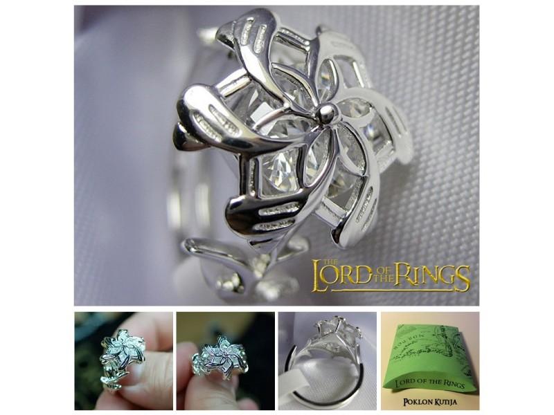 Gospodar Prstenova - Nenya - Galadrijelin prsten