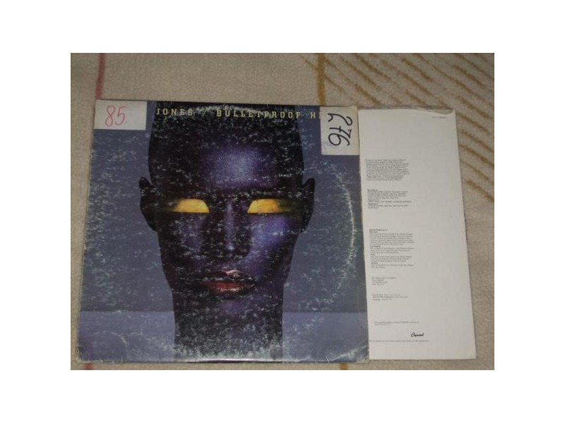 Grace Jones-Bulletproof Heart LP