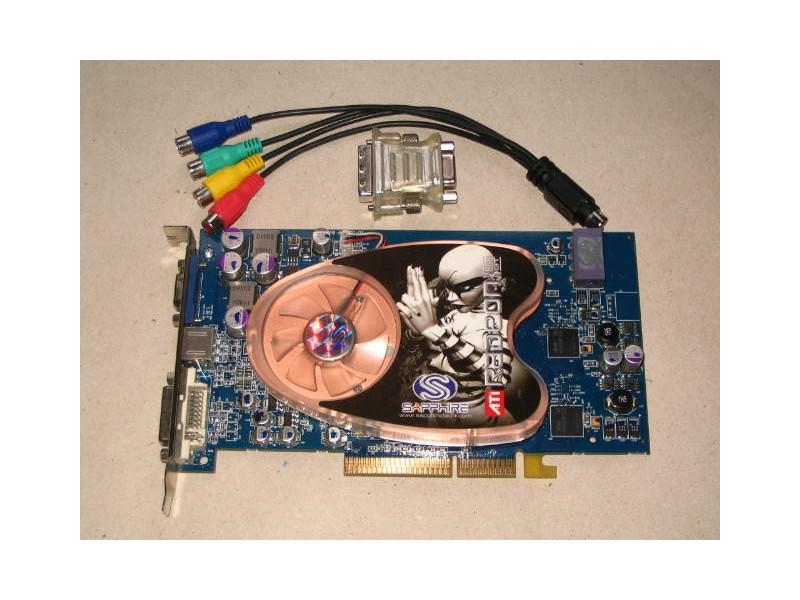 Graficka kartica Sapphire ATI Radeon X800 GT AGP