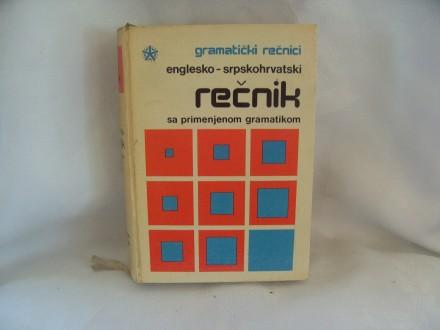 Gramatički rečnici, englesko srpskohrvatski rečnik