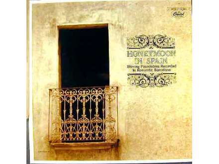 Gran Orquesta De Profesores Solistas, The - Honeymoon In Spain