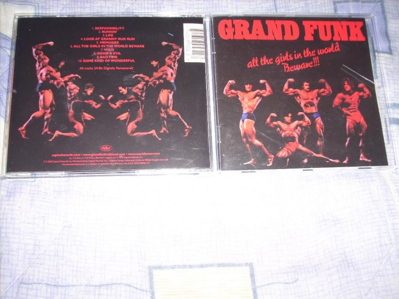 Grand Funk Railroad-All The Girls In The World BewareCD