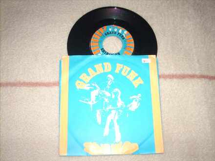 Grand Funk Railroad - Shinin` On 7` singl