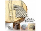 Grb kuce Stark - Ogrlica - Game of Thrones
