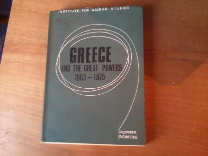 Grčka i velike sile 1853 -1875 engleski jezik