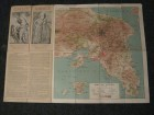 Greece, mape Atine i Atike, oko 1950.god
