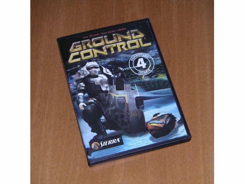 Groud Control PC igra - ograničeno 4. izdanje