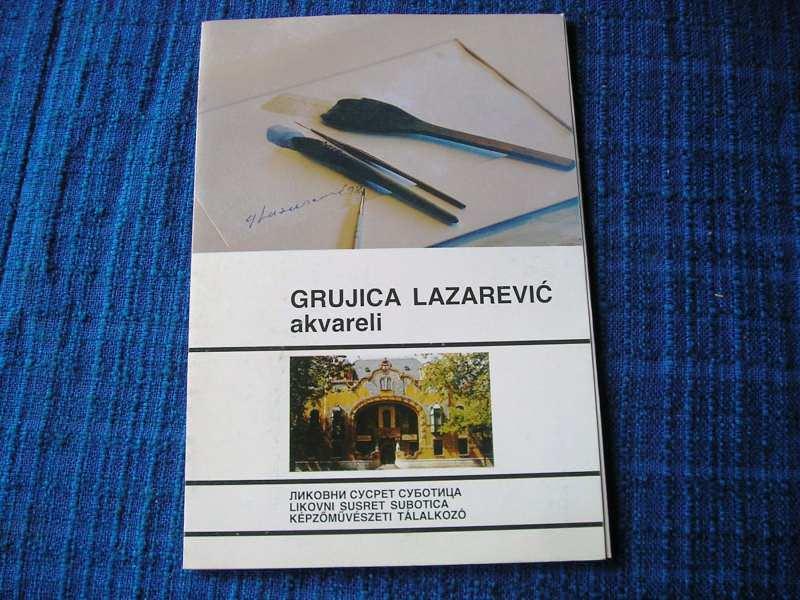 Grujica Lazarević akvareli
