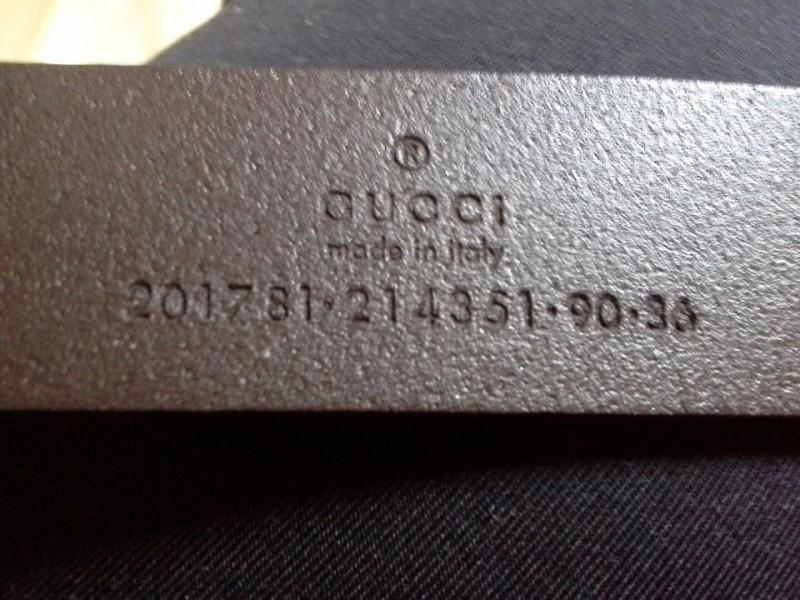 Gucci kožni braon kaiš