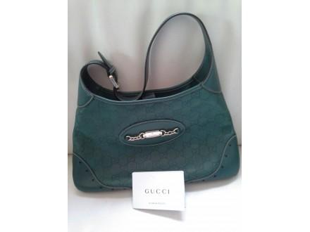 Gucci zelena kožna tašna