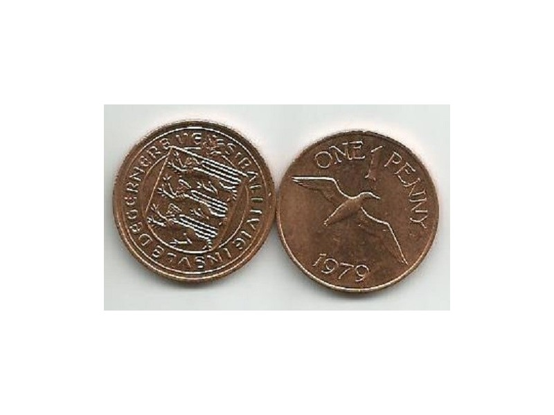 Guernsey 1 penny 1979.