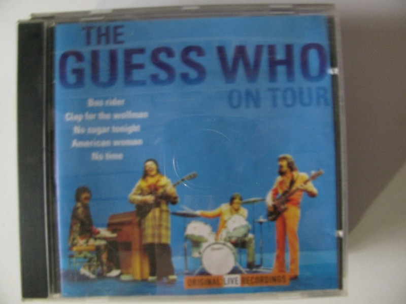 Guess Who ‎– The Guess Who On Tour
