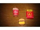 Gumice - Eraser Fast food gumice - Retro `80