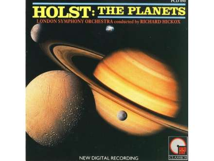 Gustav Holst, London Symphony Orchestra, The, Richard Hickox - The Planets