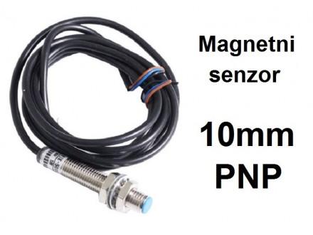 HALL senzor - SM8 - 10mm - PNP - 6-36VDC - NO