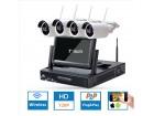 HD NVR komplet- Video nadzor -4 IP WiFi kamere + LCD