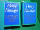 HENRY KISSINGER, MEMOARI I.-II.