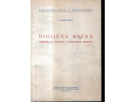 HIGIJENA MLEKA - Mirko Šipka