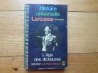 HISTOIRE UNIVERSELLE LAROUSSE 1918-1947