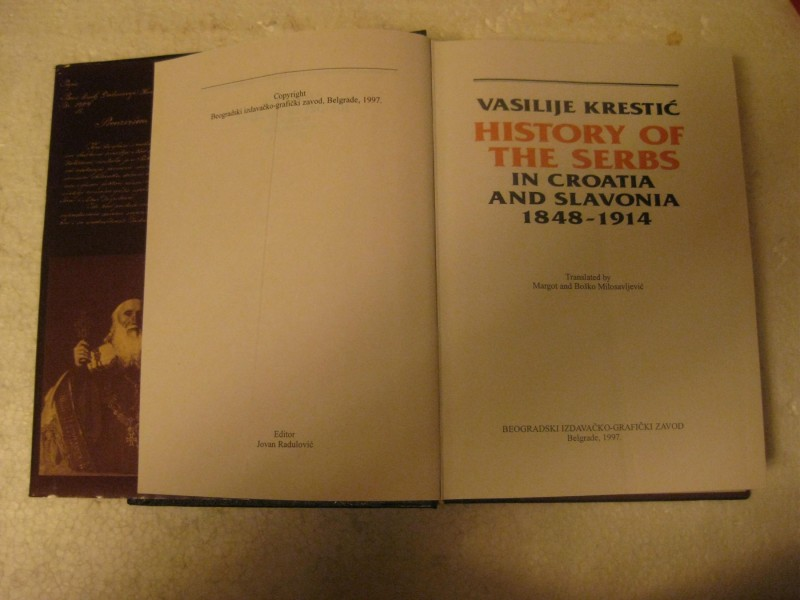HISTORY OF THE SERBS IN CROATIA AND SLAVONIA 1848-1914