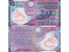 HONG KONG 10 Dollars P-401d 1.1.2014 UNC Polymer  `FC`