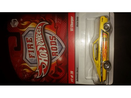 HOT WHEELS FIRE RODS