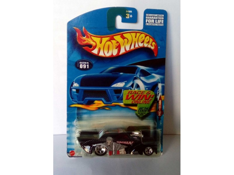 HOT WHEELS Masters of the universe - RAM-MAN