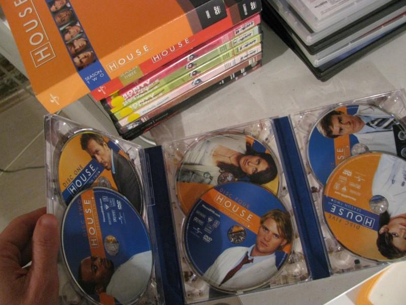 HOUSE (Hugh Laurie) Season Two - 6 DVD - Kupindo.com ...