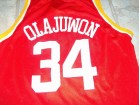 HOUSTON ROCKETS OLAJUWON 34 CHAMPION DRES ORIGINAL!
