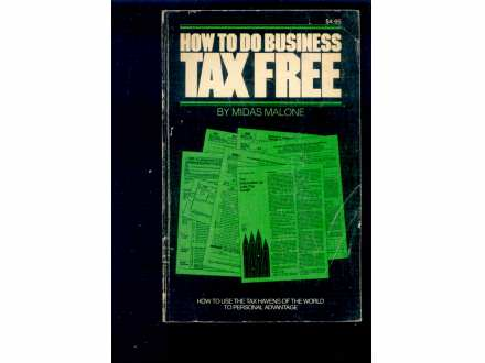 HOW TO DO BUSINESS TAX FREE