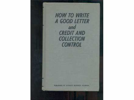 HOW TO WRITE A GOOD LETTER-CREDIT CONTROL