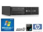 HP 6005 pro amd dual core ddr3 win 7 pro licenca