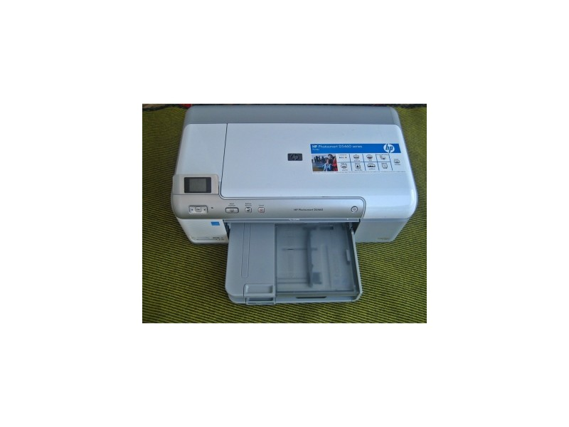 HP Photosmart D5460 Inkjet Printer (Citaj opis)