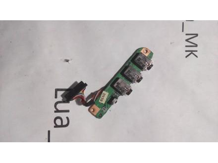 HP dv9700 dv9810eg Audio konektor