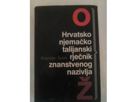HRVATSKO NJEMACKO ITALIJANSKI RJECNIK ( O - Z )