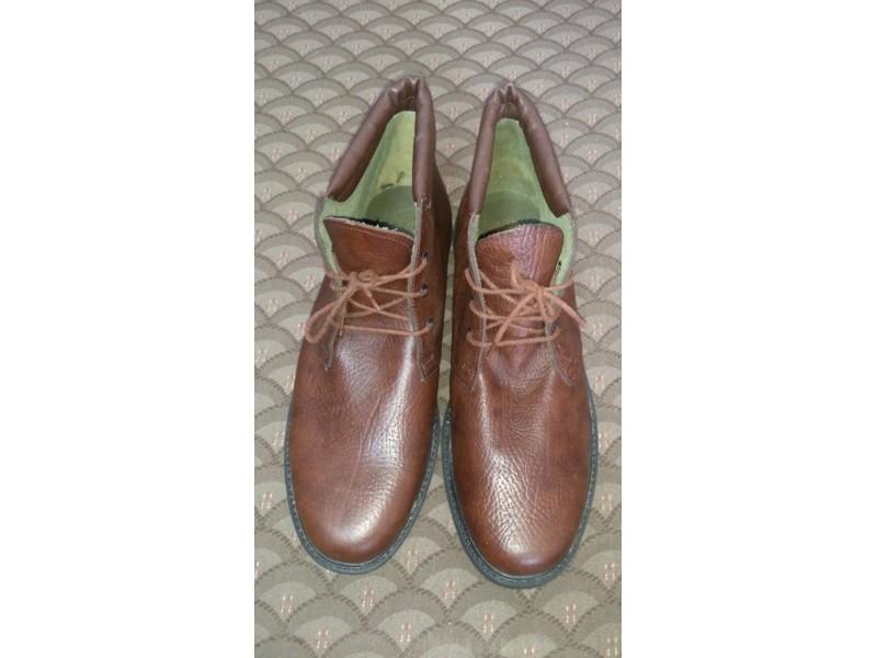 HTZ kožne duboke cipele muške braon broj 46 NOVO!!!