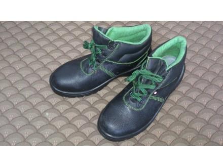 HTZ kožne duboke cipele muške crne broj 46 NOVO!!!