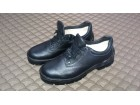HTZ kožne plitke cipele muške crne broj 46 NOVO!!!
