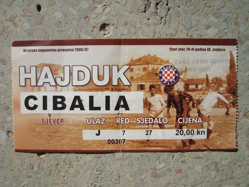 Hajduk - Cibalia, 2006/07