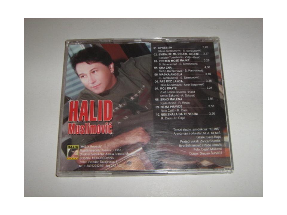 Halid Muslimović - Opsesija