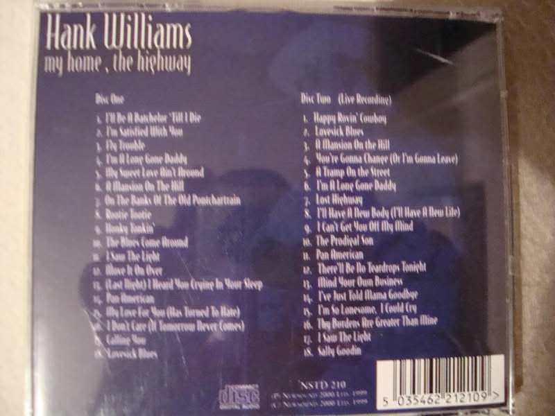 Hank Williams - The Essential Hank Williams:  Hillbilly Legend
