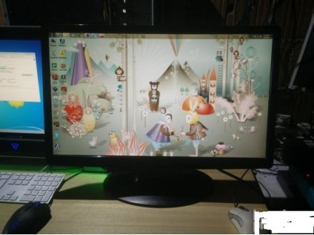 HannsG 24.6inch Black 2ms FullHD monitor