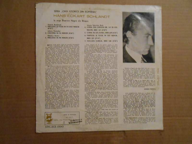 Hans-Eckart Schlandt - La Orga Bisericii Negre Din Braşov