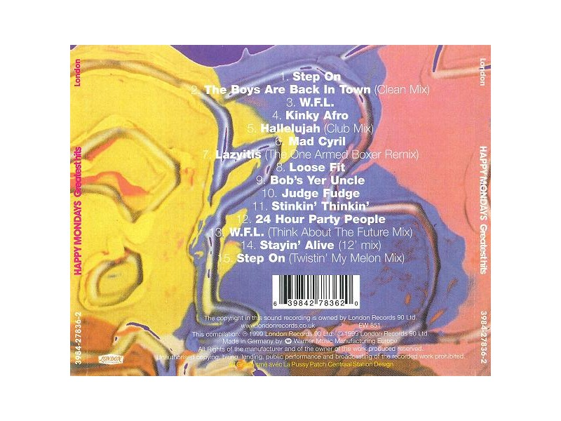 Happy Mondays - Greatest Hits